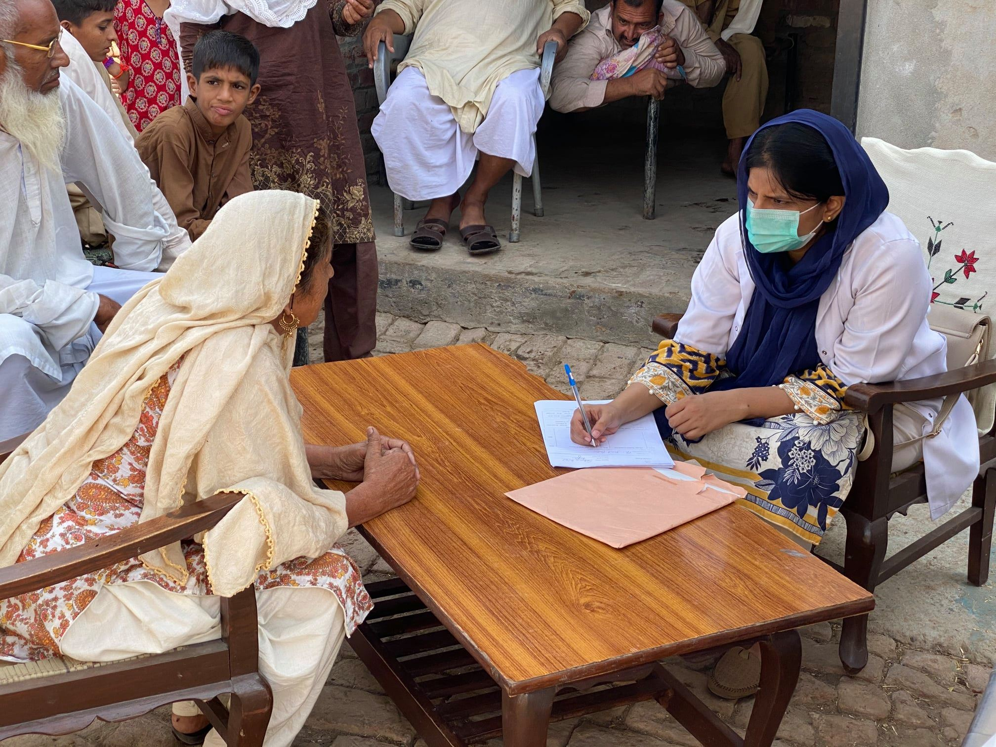 FFPS' Free Mobile Hospitals visit the rural areas and villages in Pakistan