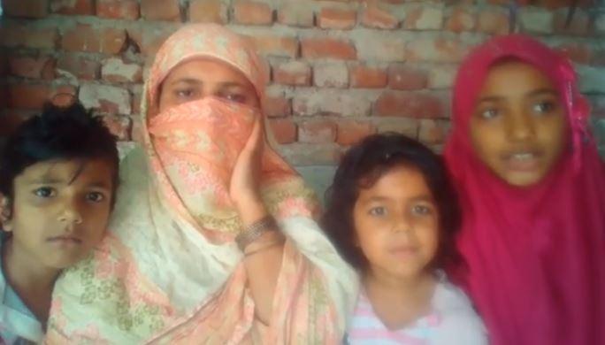 Ration & Cash Distribution: Gurgor near Sialkot