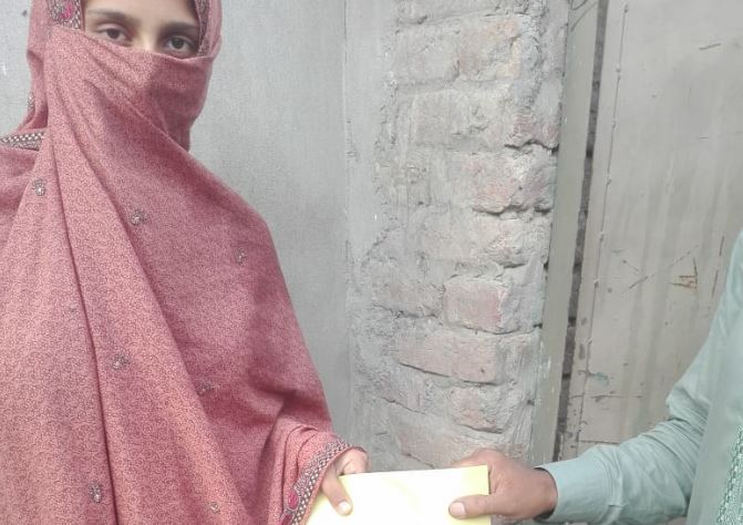 Ration & Cash Distribution Drive to the deserving families in the suburbs of Lahore , Pakistan