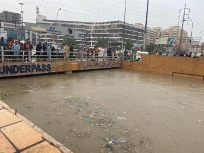 Karachi Catastrophic Flood 2020.