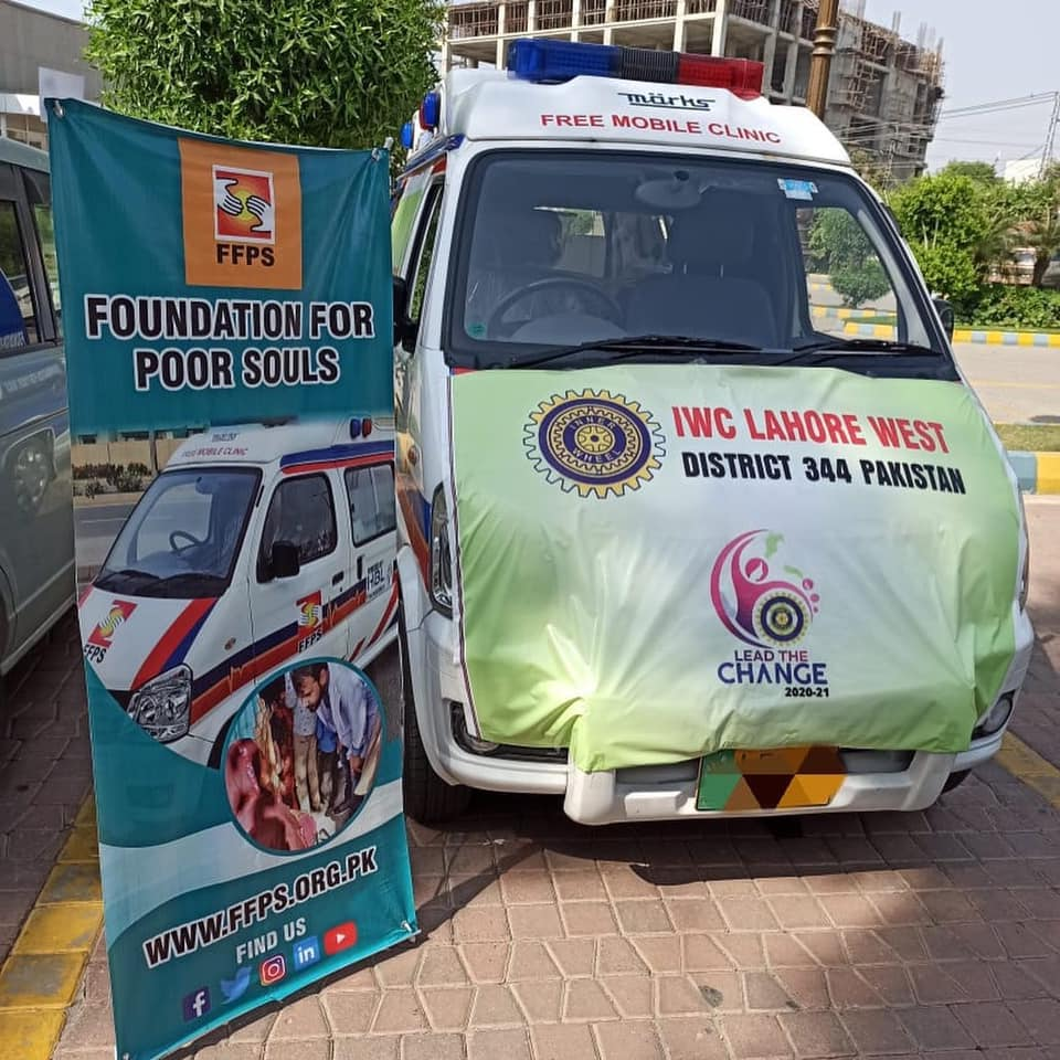 Inner Wheel Club Lahore West District 344 Joins FFPS Free Mobile Hospital Program