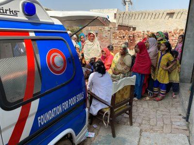 Free Mobile Hospital Program Activity At Bao Di Haweli Village